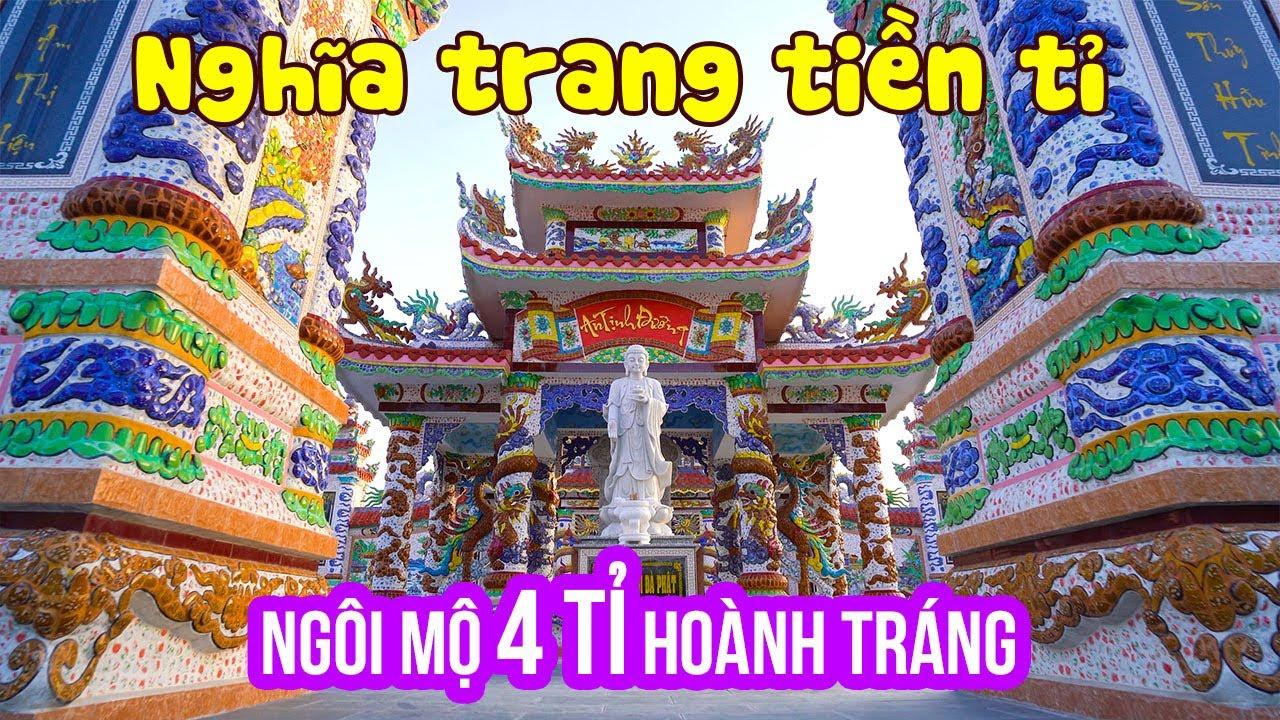 CHUYỆN LẠ Ngôi Mộ 4 Tỉ cho người sống tại Nghĩa Trang An Bằng xa hoa nhất Việt Nam | DU LỊCH HUẾ