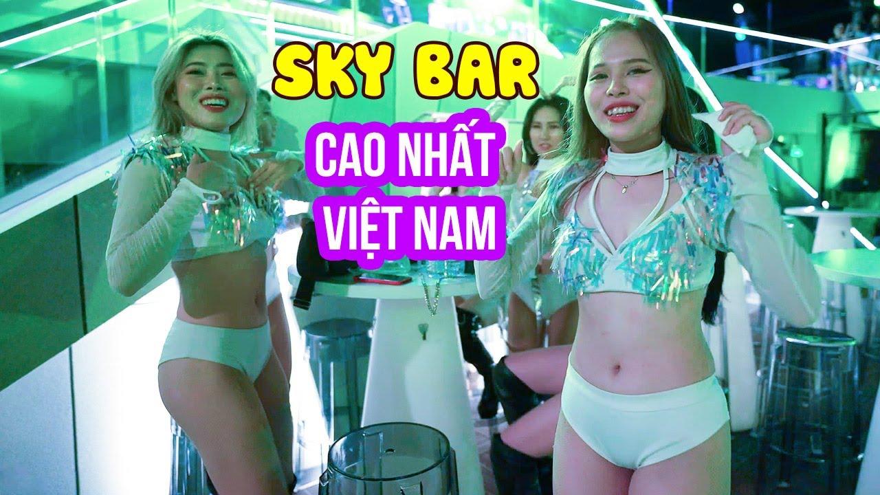 Lên Sky36 Bar cao nhất Việt Nam ngắm Đà Nẵng đẹp lung linh | DU LỊCH ĐÊM ĐÀ NẴNG