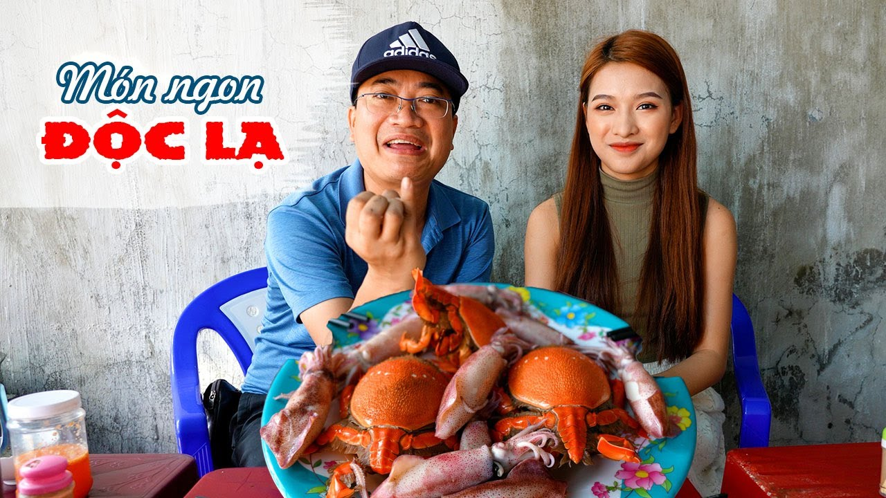 Khám phá món ăn ngon Chợ Hải Sản Nhơn Lý gần Kỳ Co và Eo Gió | DU LỊCH QUY NHƠN TỰ TÚC