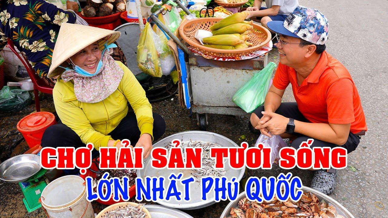 DU LỊCH PHÚ QUỐC | Khám phá CHỢ DƯƠNG ĐÔNG Thiên đường Hải Sản lớn nhất Phú Quốc