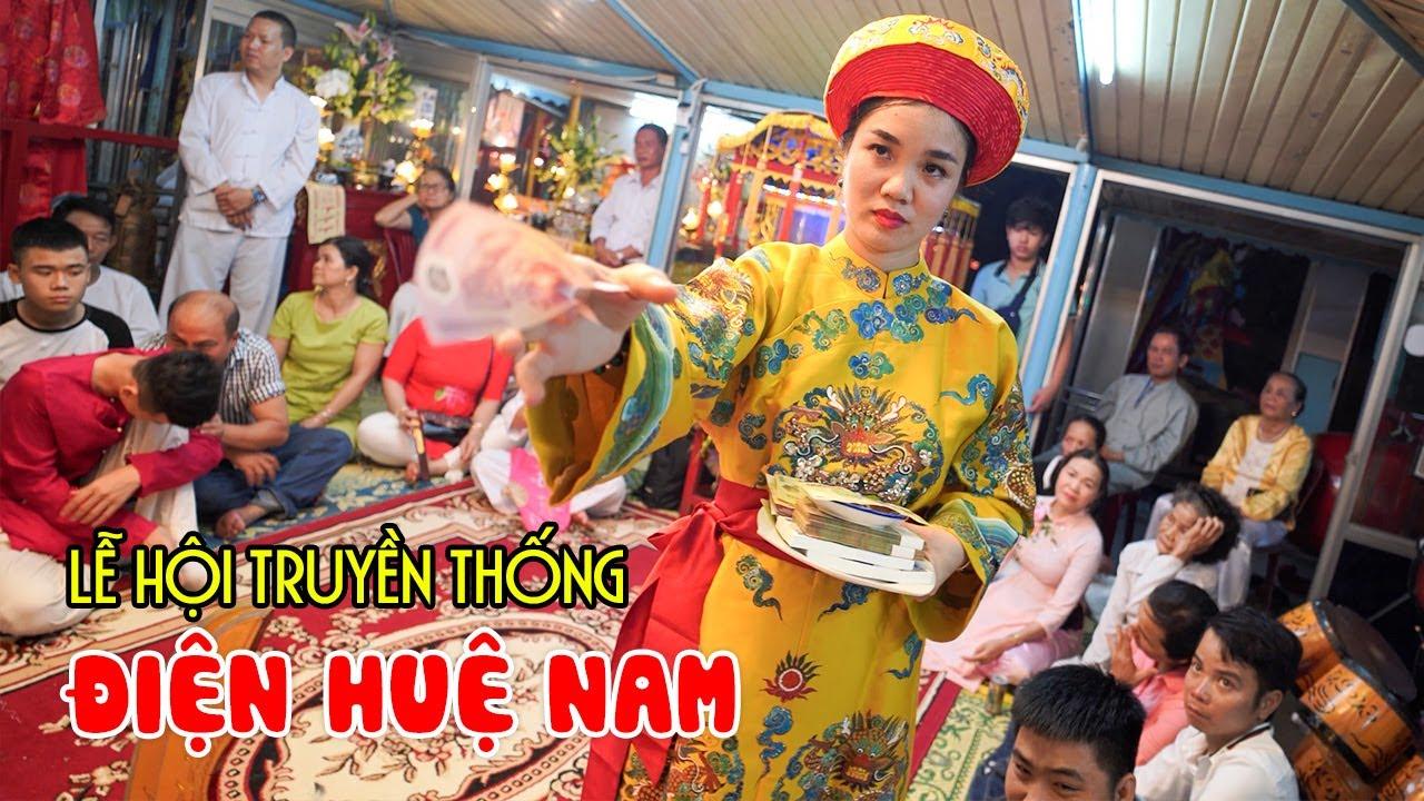Khám phá Lễ Hội Điện Hòn Chén linh thiêng bậc nhất Việt Nam | DU LỊCH HUẾ