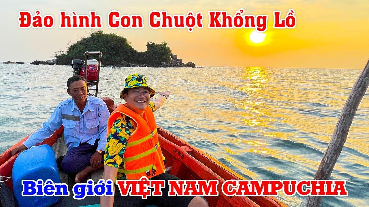 Ngạc nhiên với Biên giới Việt Nam Campuchia trên biển tại Mũi Gành Dầu | DU LỊCH KHÁM PHÁ PHÚ QUỐC