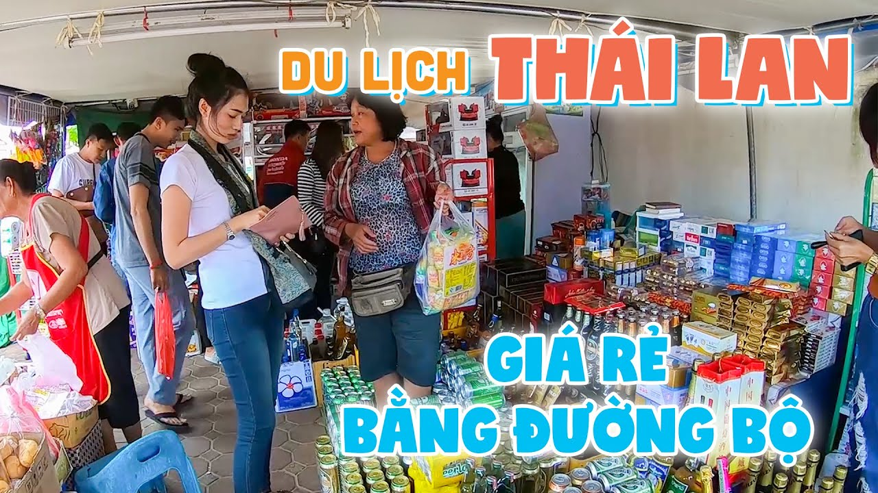 DU LỊCH THÁI LAN BẰNG ĐƯỜNG BỘ TỰ TÚC GIÁ SIÊU RẺ | Khám phá Ẩm thực tại Mukdahan gần biên giới Lào