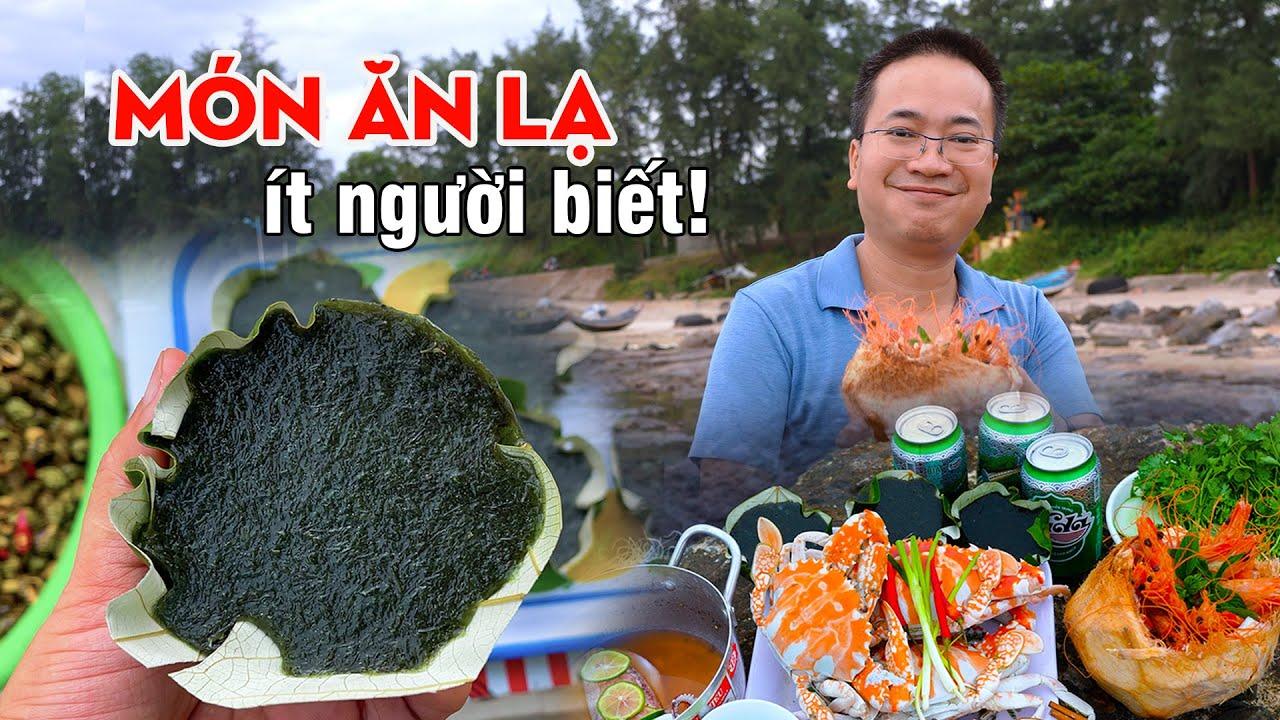 Dạo Chợ Hải Sản gặp Món ăn ngon độc lạ chưa từng thấy ở Việt Nam